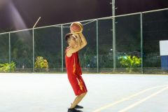Shoot some hoops at our basketball court